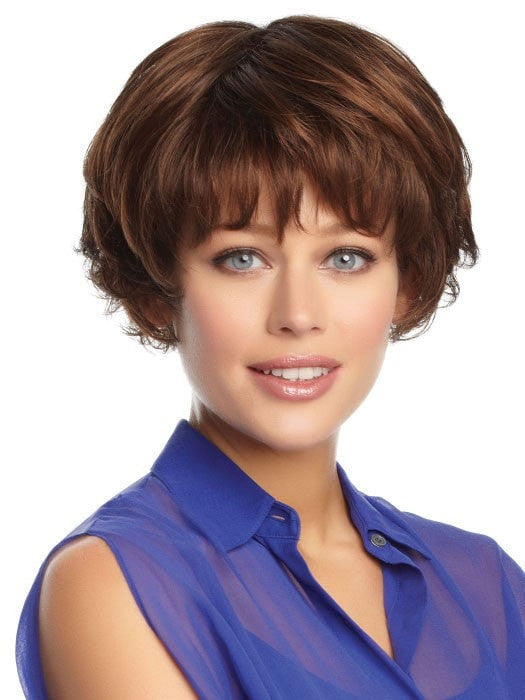 Color GL6/30 = Mahogany: Dark Brown with soft Copper highlights | Prosperity by Gabor