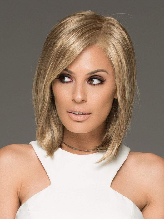The impeccable ear to ear extended lace front offers versatile styling and the most seamless, natural appearance