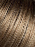 DARK-SAND-ROOTED | Light Brown base with Lighest Ash Brown and Medium Honey Blonde blend and Dark Roots