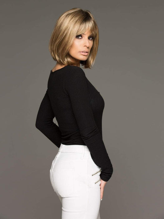 The Envy Petite Paige is a timeless short wig, a classic bob cut/ pageboy style suitable for many ages and facial shapes