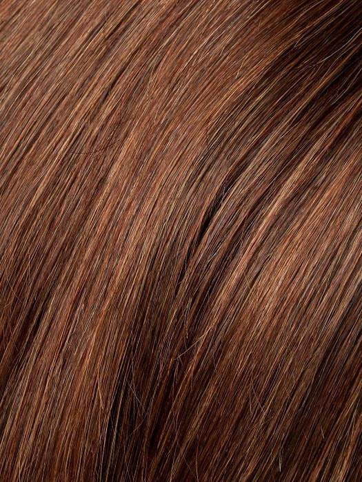 Color CHESTNUT-MIX = Dark Auburn, Medium Auburn, and Warm Medium Brown blend