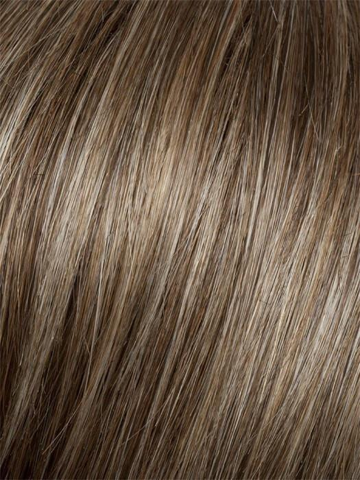 Color G13+ = Cappuccino Mist: Dark blonde with pale highlighting on top | Precedence by Gabor
