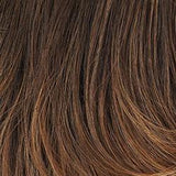 G829+ Dark Cinnamon Mist - Medium brown with ginger red highlights