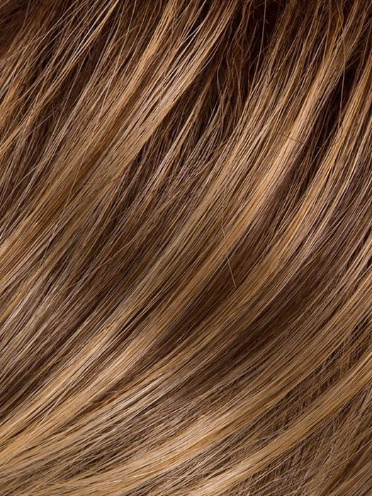 GL11-25SS HONEY PECAN | Chestnut brown base blends into multi-dimensional tones of brown and golden blonde