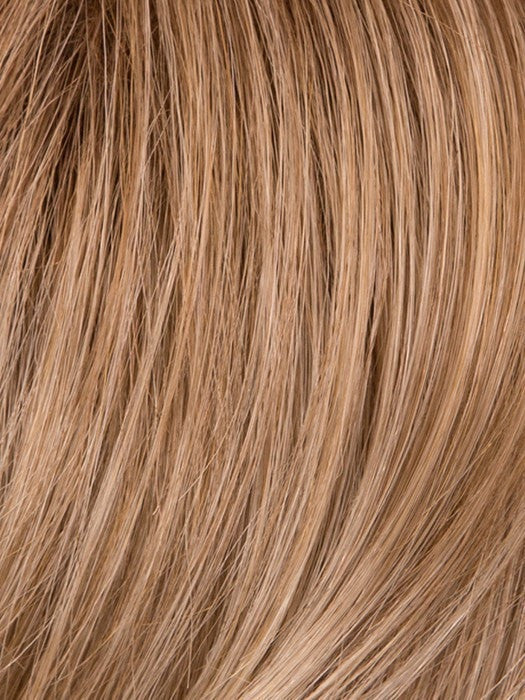 GL16-27SS BUTTERED BISCUIT | Caramel brown base blends into multi-dimensional tones of light brown and wheaty blonde.
