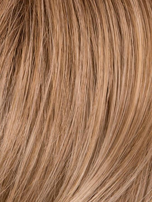 GL16/27SS SHADOW SHADE BUTTERED BISCUIT | Caramel brown base blends into multi-dimensional tones of light brown and wheaty blonde
