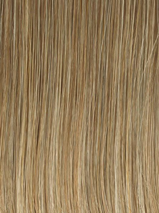GL16-27 BUTTERED BISCUIT | Medium Blonde with Light Gold Highlights