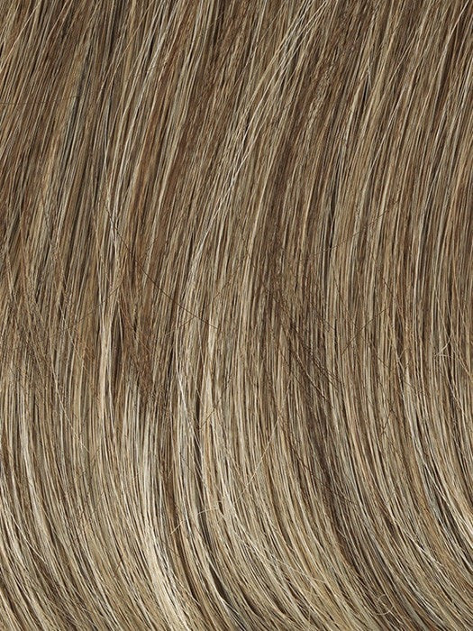 Color GL18/23 = Toasted Pecan: Ash Brown with Cool Blonde highlights