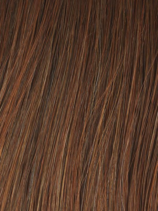 GL29-31SS | SS RUSTY AUBURN | Chocolate brown base blends into multi-dimensional tones of medium copper and amber.