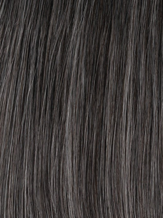 Color GL44-51 = Sugared Charcoal: Darkest Brown with 50% Silver Grey