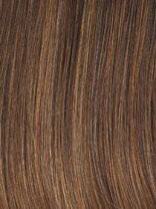 Hazelnut - Coffee Brown w/Soft Ginger highlights