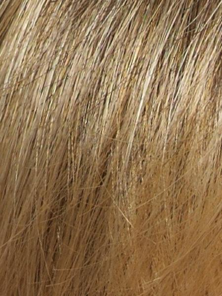 Harvest-Gold = Medium Brown and Dark Gold Blonde 50/50 blend