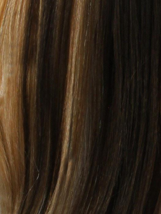 HAZELNUT | Medium Golden Brown and Light Auburn with an Undertone of Strawberry and French Vanilla Blonde