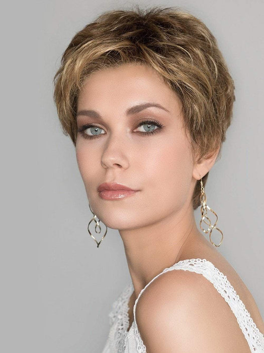 The Hair Society Luxury Collection by Ellen Wille is 100% hand-tied, monofilament, with a beautiful lace front.
