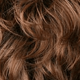 Color 12GR = GOLDEN BROWN / LIGHT AUBURN HIGHLIGHTS AND DARK BROWN ROOTS