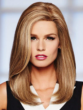 High Profile by Raquel Welch in R14/25 HONEY GINGER | Dark Blonde Evenly Blended with Ginger Blonde