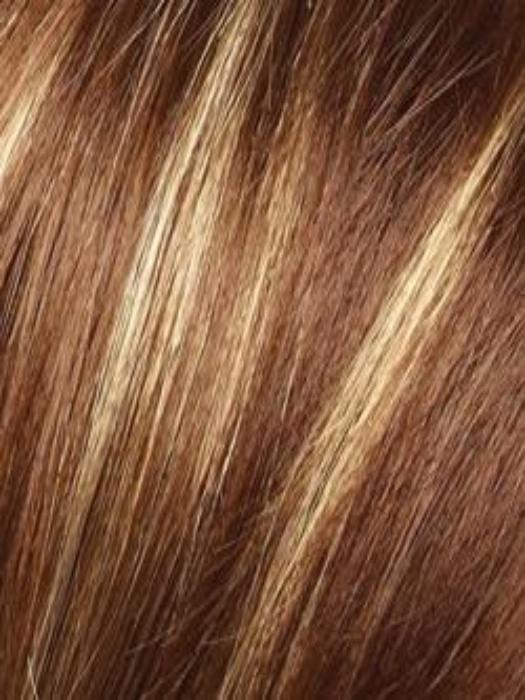 ICED MOCHA | Medium Brown with Creamy Blond highlights