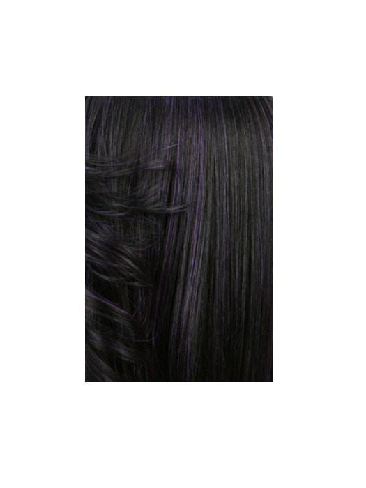 M1DP | 90% Jet Black And 10% Dark Purple Mixed