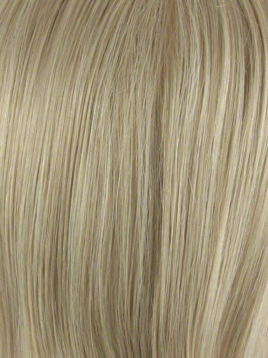 Color Medium-Blonde: 2 tone color with soft golden blonde and champagne blonde highlights