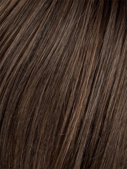 CHOCOLATE COPPER | Dark Brown with Soft Coppery Highlights