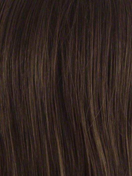 Color Medium Brown = 3 tone blend with medium brown with natural brown highlights