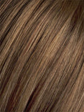 Color Mocca/Mix=Medium Brown, and Light Auburn blend
