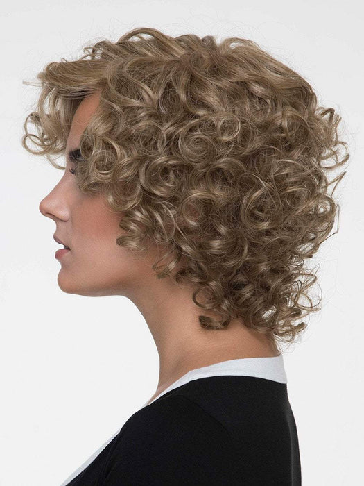 A bouncy, curly style any woman would die for