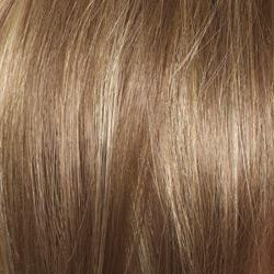 Mochaccino Med Brown + Golden Blond highlights