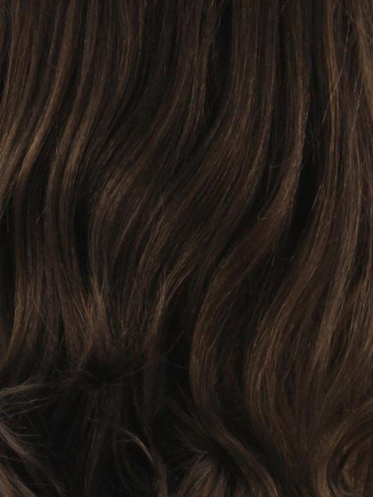 P6/30 | Alternate Strands of Medium Chestnut Brown and Light Auburn