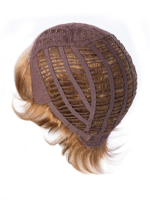 Custom Fit Wig Cap Easily Adjusts to most Head Sizes