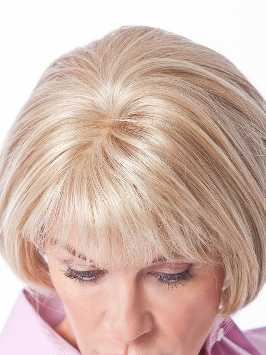 Transparent Monofilament Crown Piece for Limitless Hair Styling Versatility