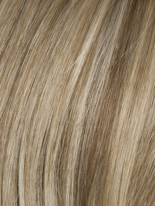 Color R1621S = Glazed Sand: Honey Blonde w/ Ash Highlights on top