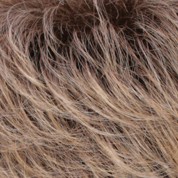 R24/18BTR8 | Golden Blonde Blended & Tipped With Ash Blonde & Golden Brown Roots