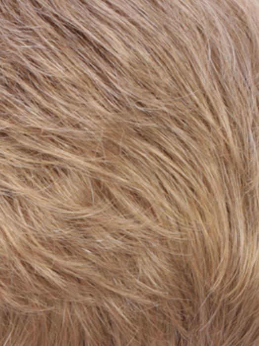 R24/18BTRT8 | Golden Blonde Blended and Tipped with Ash Blonde and Golden Brown Roots