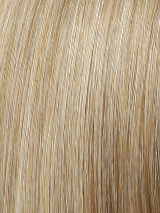 Color R25 = Ginger Blonde: Golden Blonde with subtle highlights.