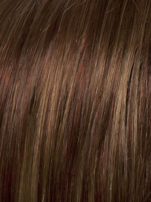 R30/27H AUBURN MIST | Medium Auburn with Strawberry Blonde Highlights Throughout