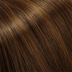 R6LF29 Chestnut Brown Lightening to Bright Red Mix in Front