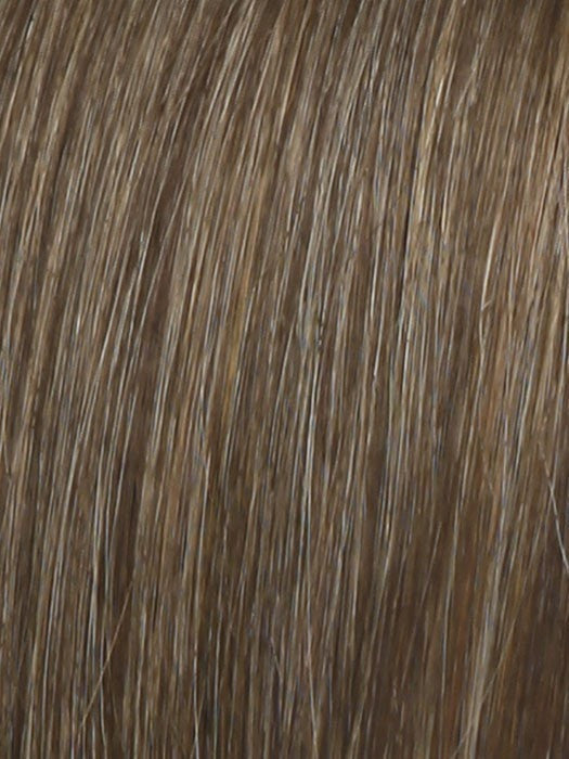 R9F26 MOCHA FOIL | Warm Medium Brown with Medium Golden Blonde Highlights Around the Face