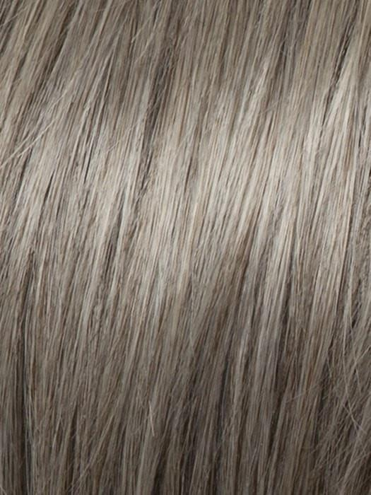 RL119G SILVER AND SMOKE | Light Brown with 80% Gray in Front Gradually into 50% Gray Towards the Nape