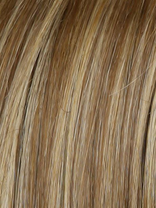 RL14/22SS | SHADED WHEAT | Warm medium blonde with medium brown roots
