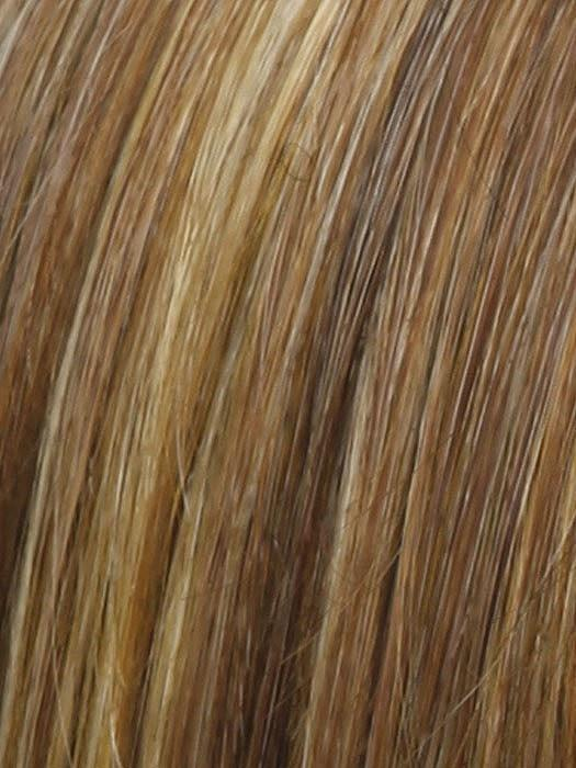 RL29/25 | GOLDEN RUSSET | Ginger Blonde Evenly Blended with Medium Golden Blonde