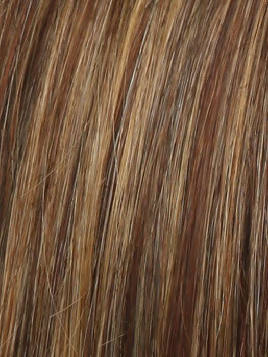 RL31/29 | FIERY COPPER | Medium Light Auburn Evenly Blended with Ginger Blonde