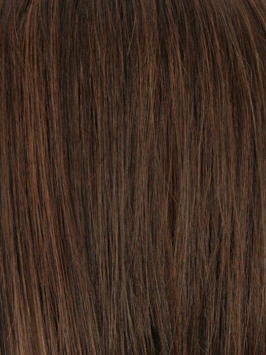 ROM6/27 | Chestnut Brown, Base with a subtle graduation to Light Auburn
