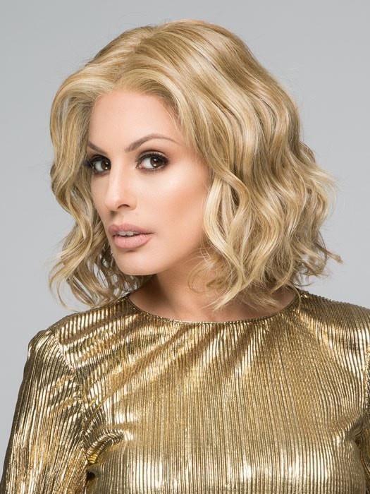 EDITOR'S PICK Wig by Raquel Welch in RL13/88 GOLDEN PECAN | Dark Golden Blonde Evenly Blended with Pale Blonde