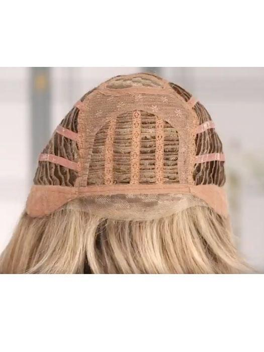 Monofilament Crown, Lace Front, Open-wefted