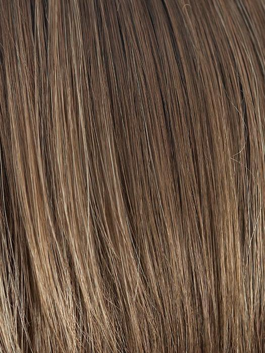 HONEY-WHEAT | Light Brown base with Honey Blonde highlight