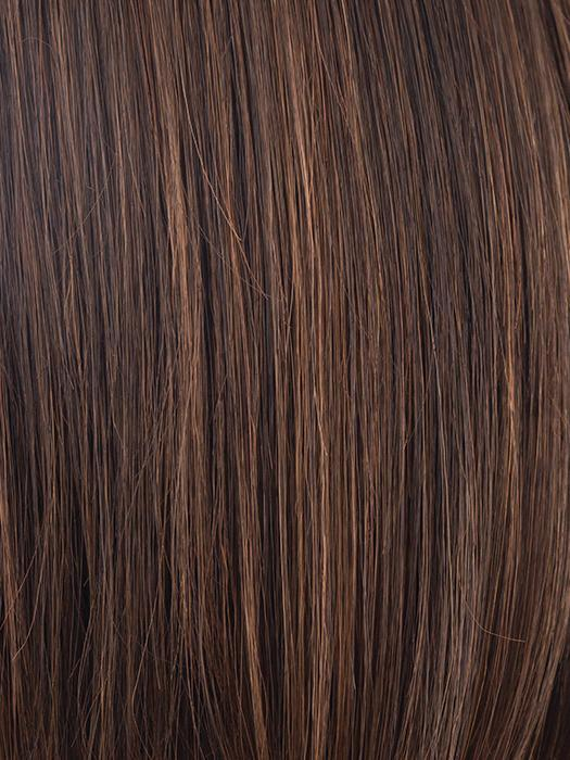 GINGER-BROWN | Medium Auburn and Medium Brown evenly blended