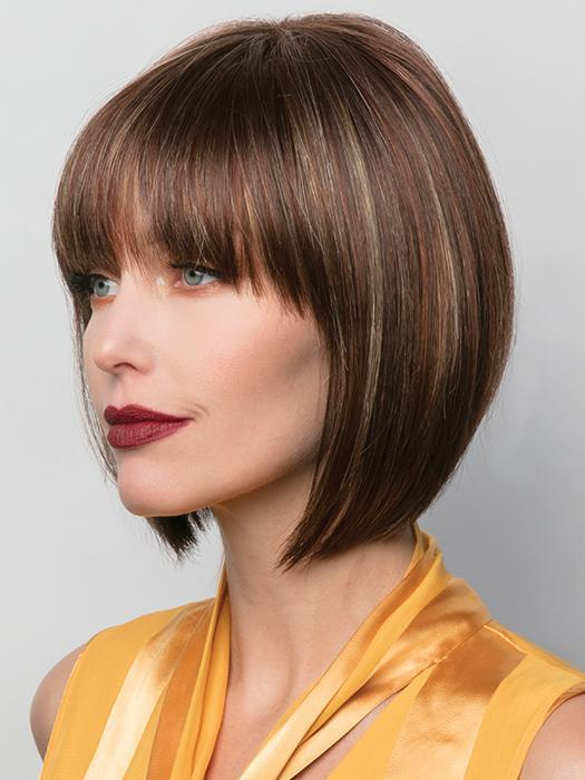 TORI by RENE OF PARIS in RAZBERRY ICE | Medium Auburn Base with Copper and Strawberry Blonde Highlights