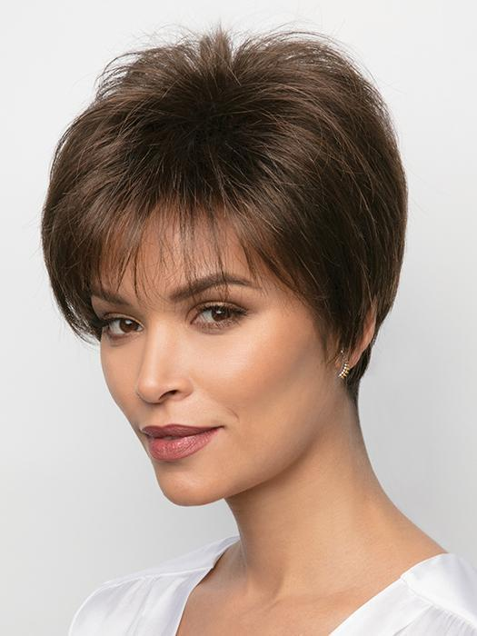 SAMY by Rene of Paris in GINGER BROWN | Medium Auburn Evenly Blended with Medium Brown