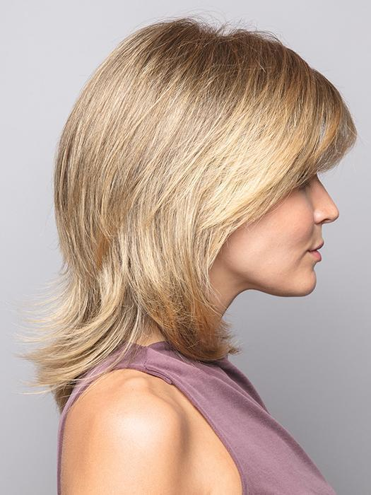 JADE by Rene of Paris in HARVEST-GOLD | Medium Brown and Dark Gold Blonde evenly blended